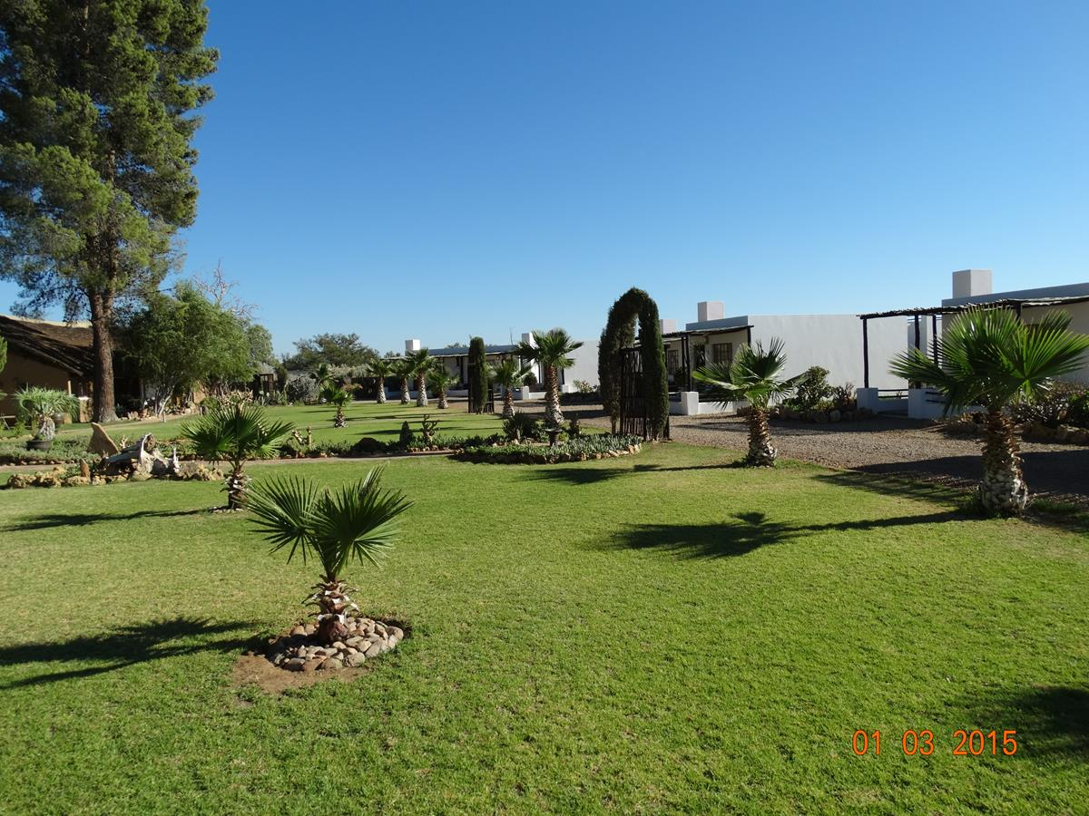 Beautiful Garden At The Private Game Reserve
