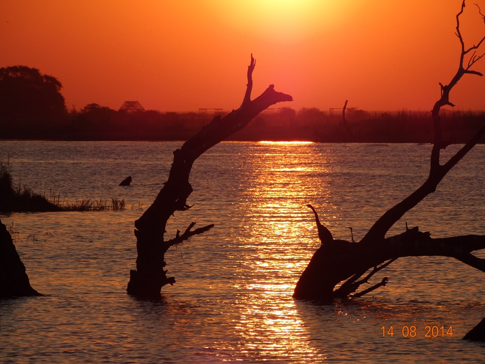 Sunset In The Okavango Delta1