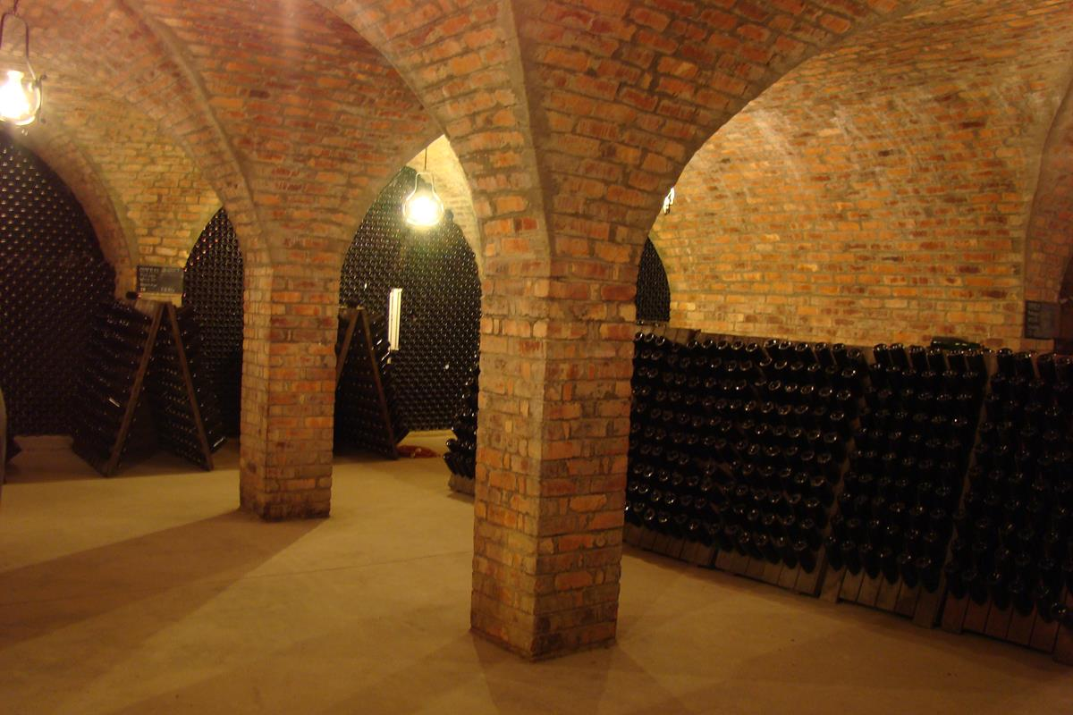 Sparkling Wine Maturation Cellar