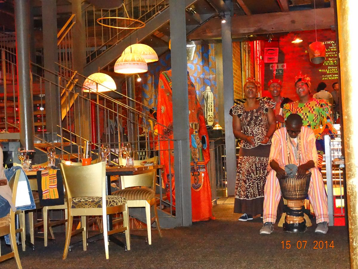Dining experiences in Cape Town