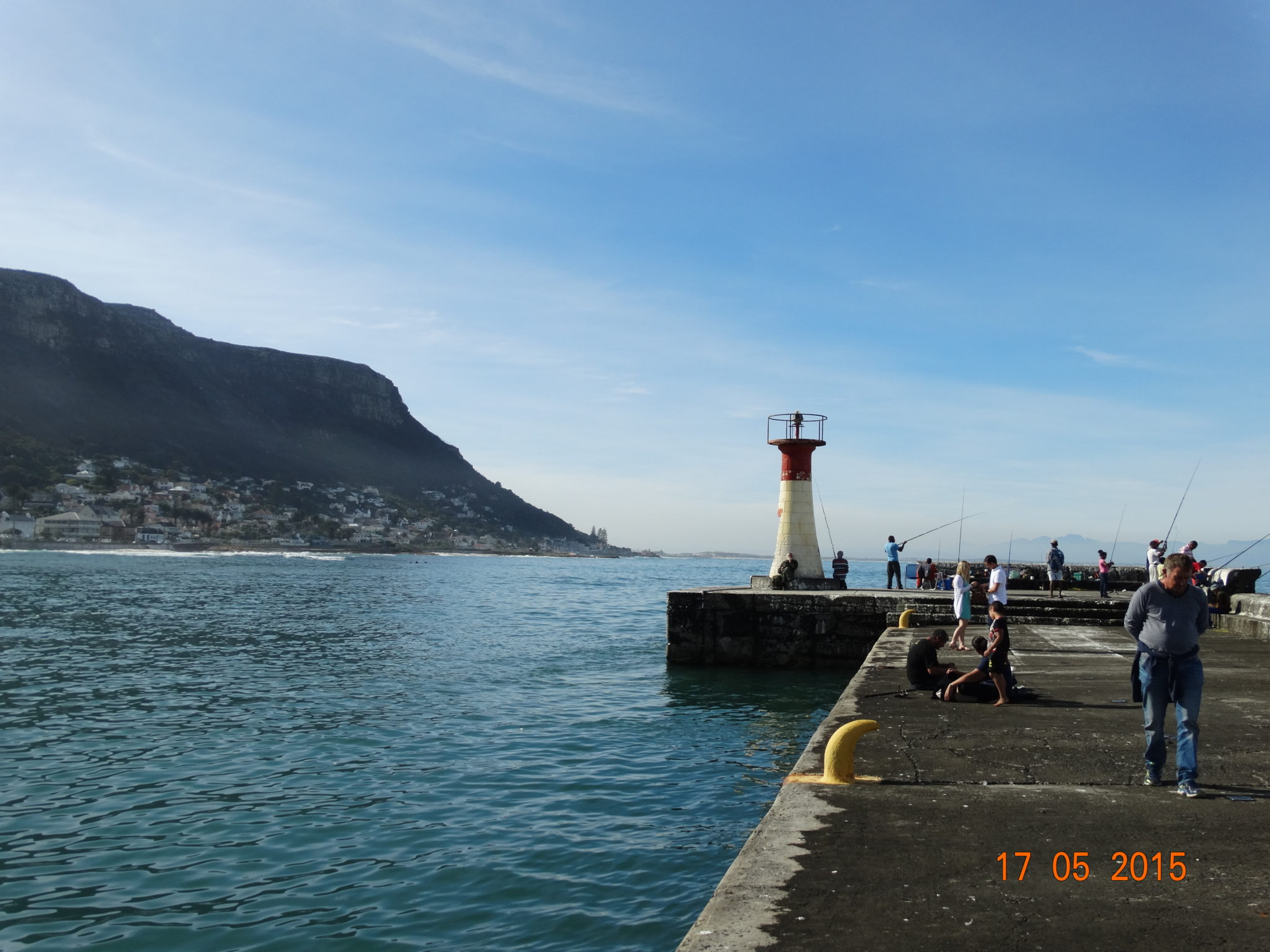 Cape Peninsula Light House in Kalk Bay Habour