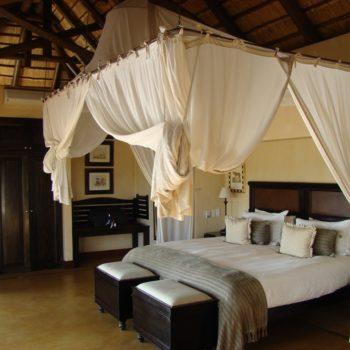Luxurious accommodation on safari