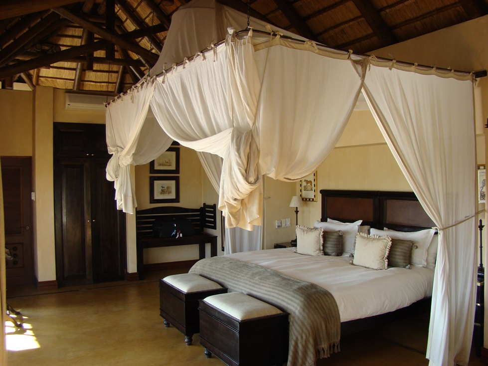 Luxurious accommodation on safari