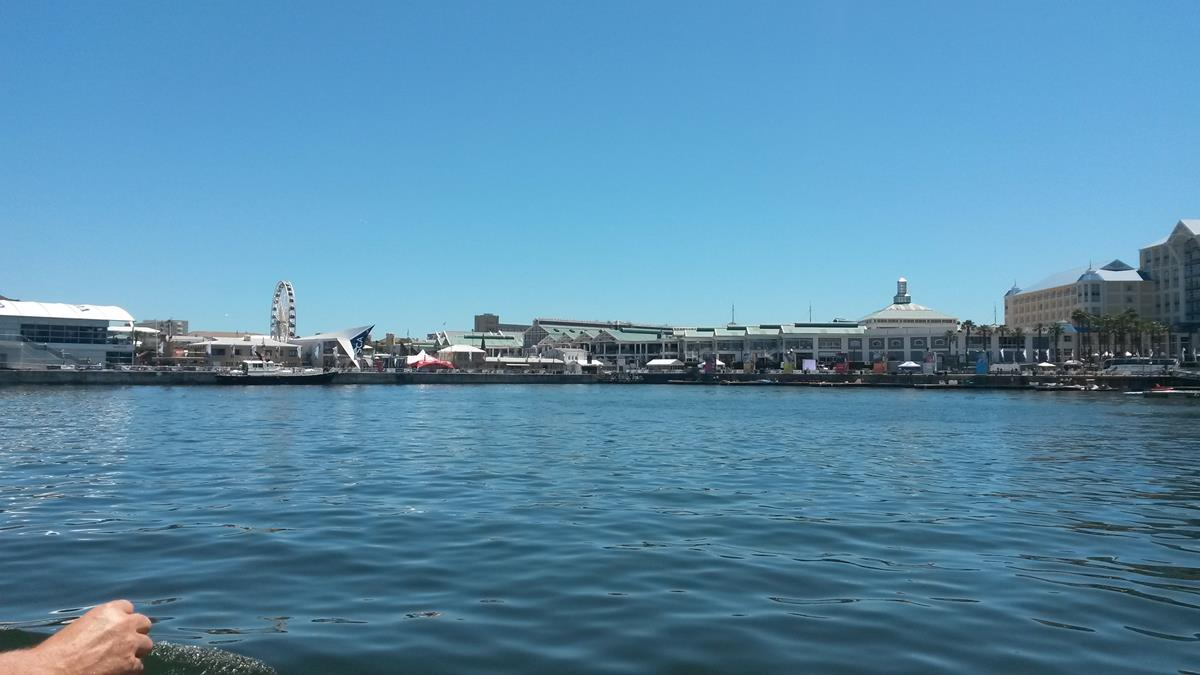 The famous V & A Waterfront