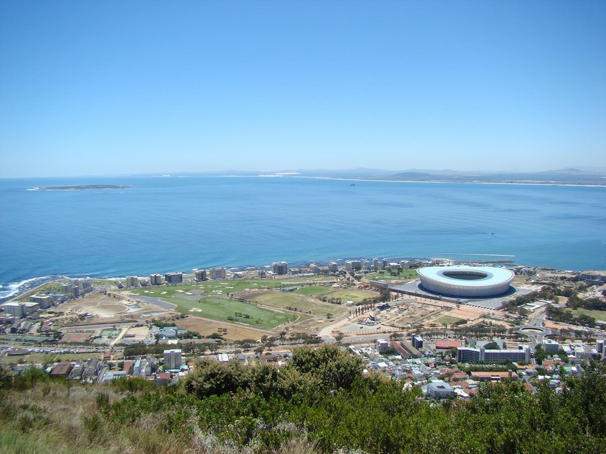 View of Robben Island from Signal Hill (Copy)