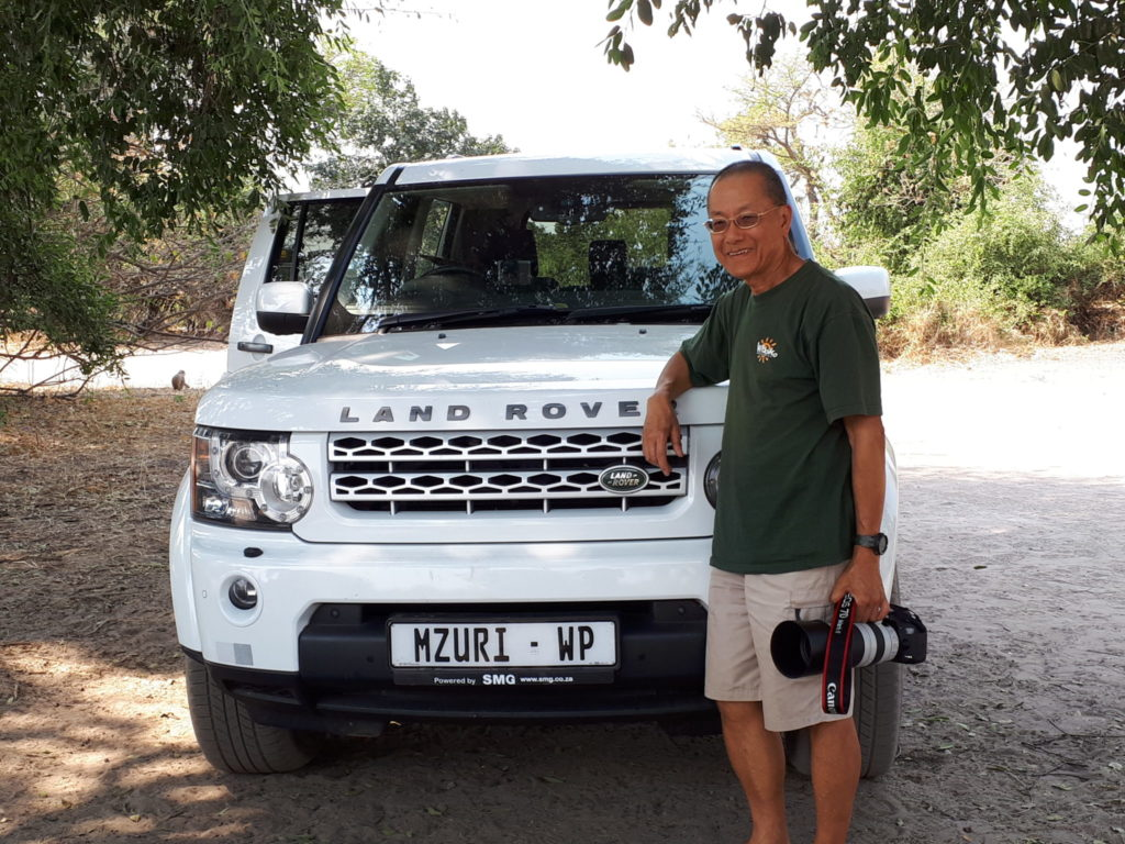 On the Luxury Safari in Botswana with our guests