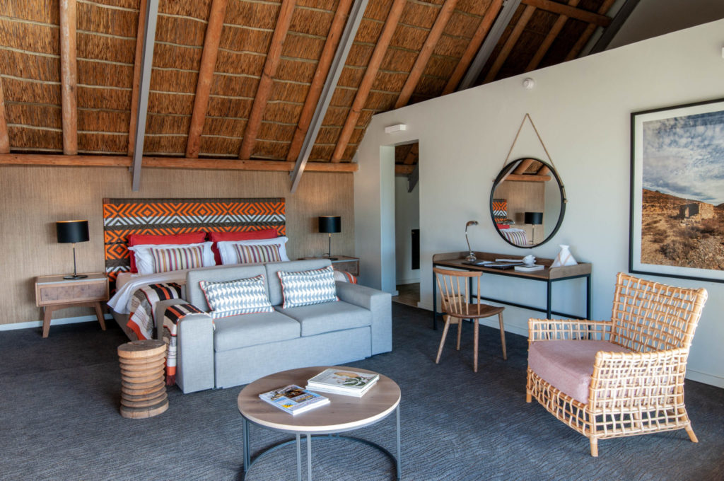 Luxury finishes at Sanbona Wildlife Reserve