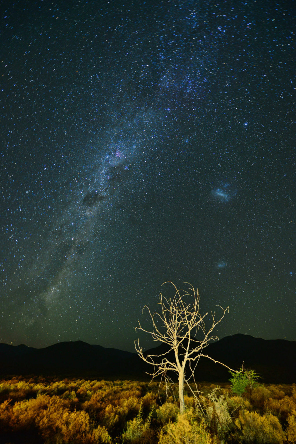 The magnificent Milky Way in the Little Karoo