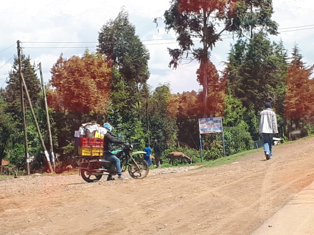 Grocery deliveries in Kenya