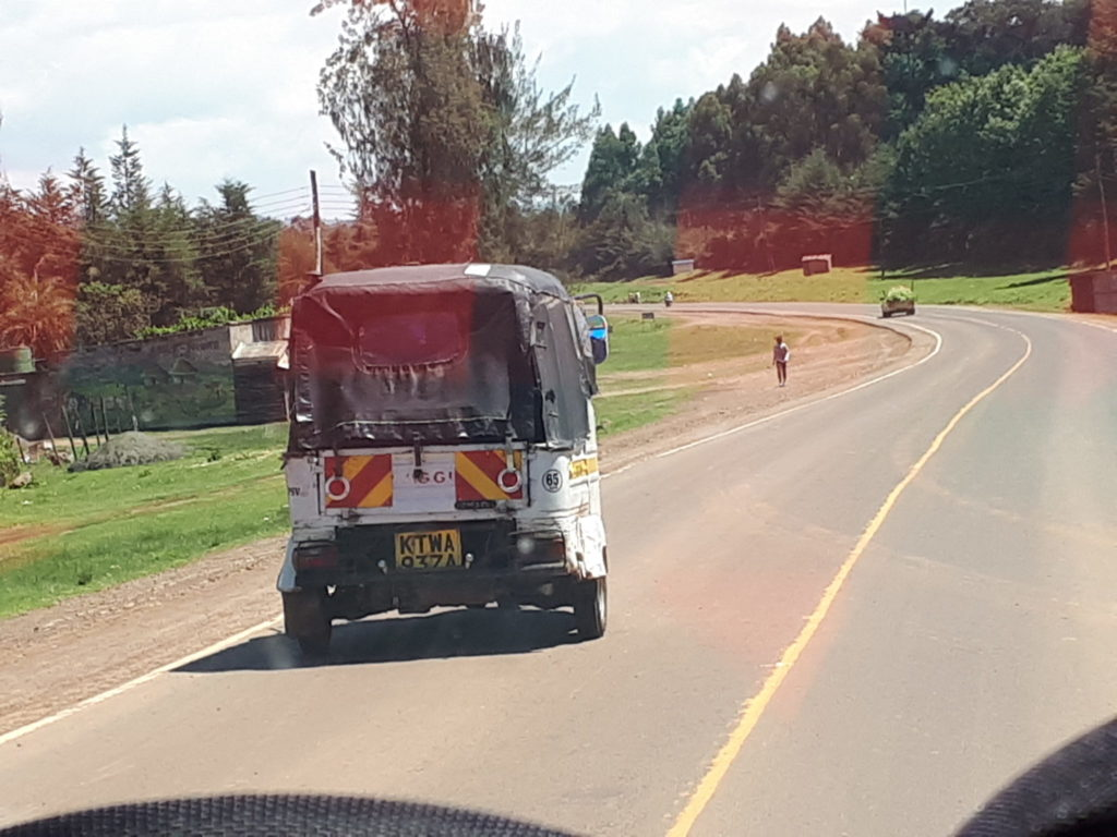Public Transport at Nyahururu, Kenya