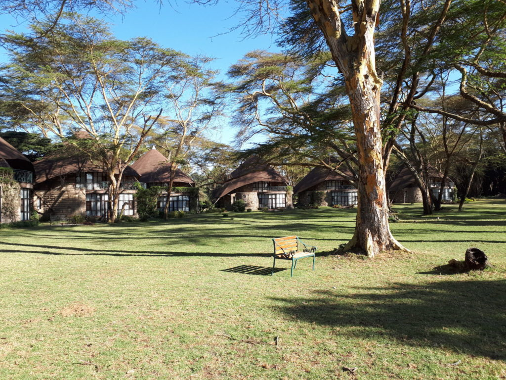 Rooms at the Lake Naivasha Sopa Lodge