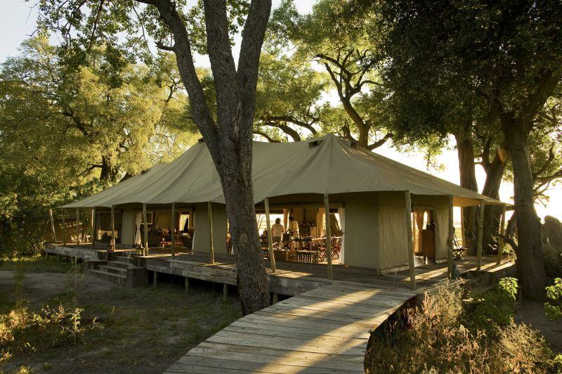 Luxurious Tented Accommodation at Zarafa Camp