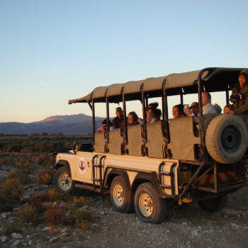 Sunset at Inverdoorn Game Reserve